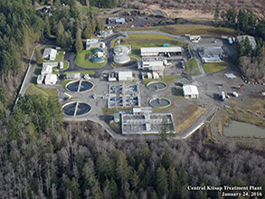 aerial image of Central Kitsap Treatment Plant