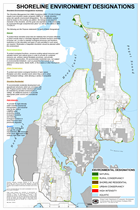 Map of North Kitsap Shoreline Designations