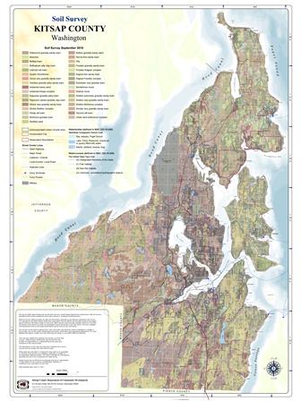 Kitsap County Map Library - 36 x 48 world map