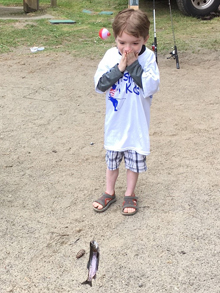 Fishing Kids Event Picture