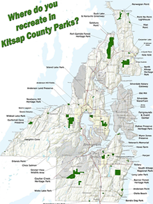 Kitsap County Parks Map