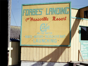 Forbe's Landing Hansville Past Photo