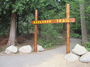 South Kitsap Regional Park - Explorer Trail