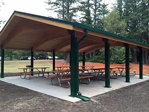 Wildcat Lake Park Picnic Shelter
