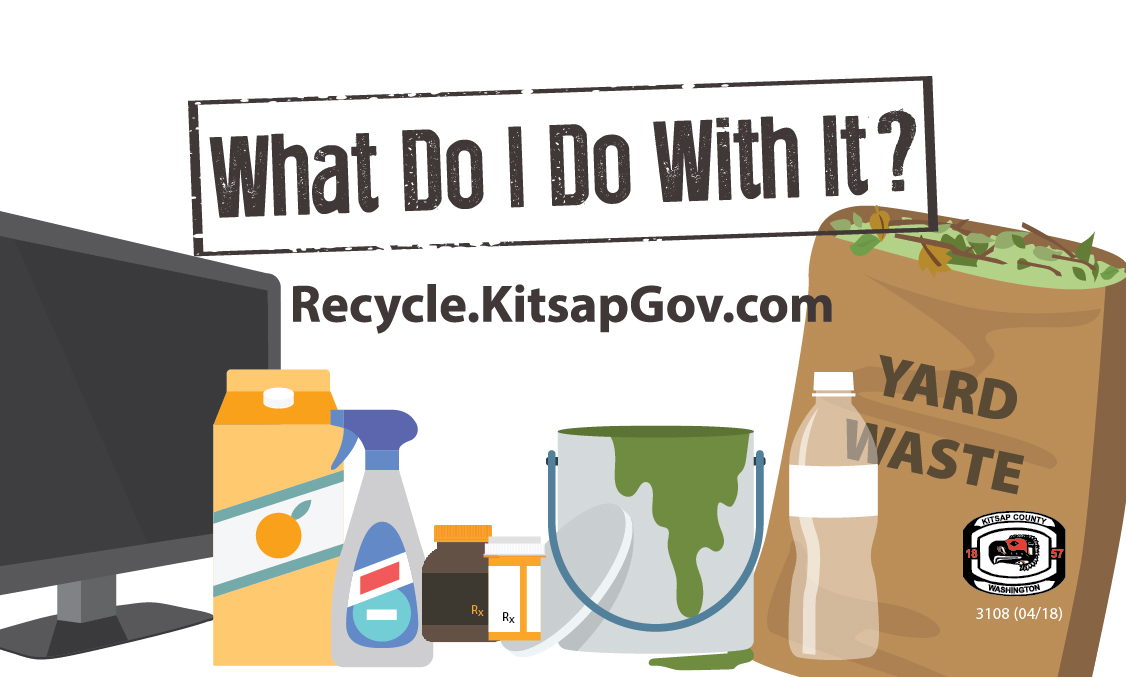 Link to the online disposal and recycling guide, What Do I Do With It?